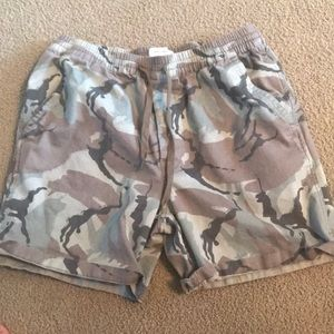 Men's Urban Outfitters Camouflage Shorts